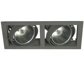 Светильник MINI NORM DUO E 35TC CDM/830 WFLfg/SPfg silver LIVAL