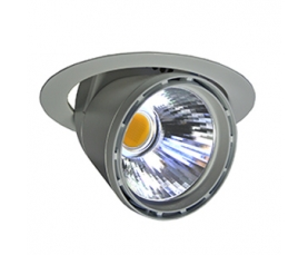 Светильник VIP DL LED 4000K 50D black LIVAL