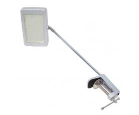 Светильник с кронштейном LED IRIS, 17W, 3000K, 40SMD 5630 LED, с драйвером, L=340mm, серебристый GLS